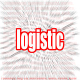 Logistic word cloud