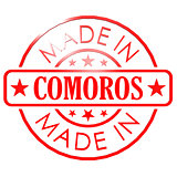 Made in Comoros red seal