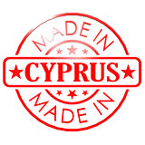 Made in Cyprus red seal