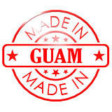 Made in Guam red seal