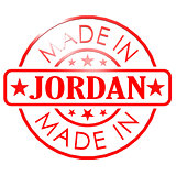 Made in Jordan red seal