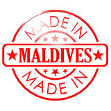 Made in Maldives red seal