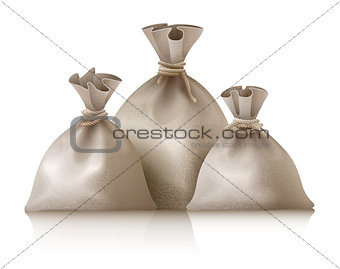 Three full sacks