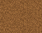 Pattern in zigzag with brown line