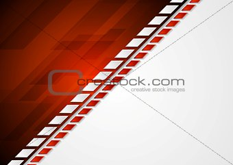 Abstract corporate bright tech background