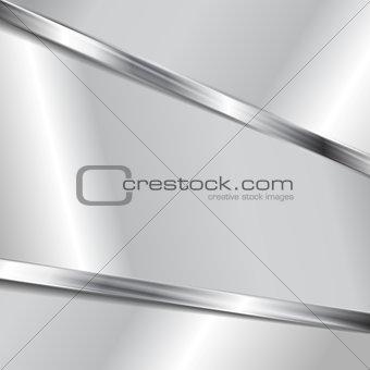 Abstract vector metallic texture background