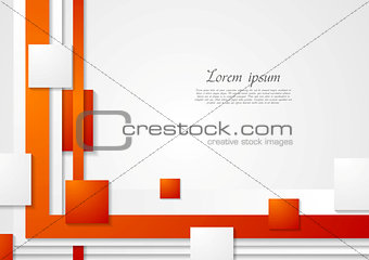 Abstract corporate bright technical background