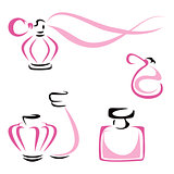Perfume containers