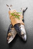 Mackerel fish.