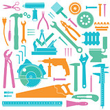 Colored Tools icons