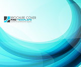 Abtract waves background for brochures and flyers design