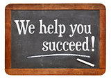 We help you succeed on blackboard