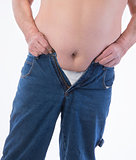 Male Obesity Belly