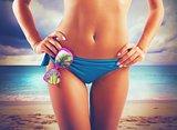 Sunglasses in bikini
