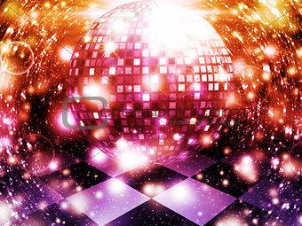Abstract dancing floor