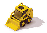 Vector isometric mini loader