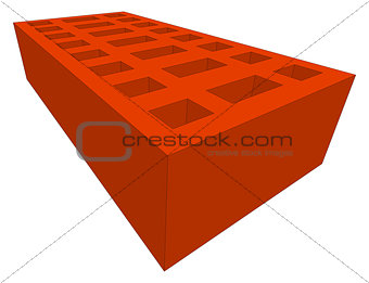 Brick. Vector illustration
