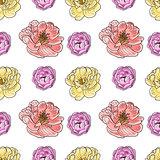 Briar rose color sketch seamless