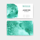 Business cards Watercolor