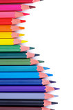 Colorful Pencils Wave