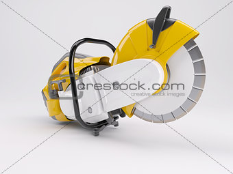 3D Render of a Cut off saw