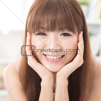 Asian face