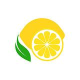 Lemon fruit icon