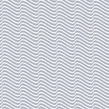 Grey seamless wavy line pattern vector illustration