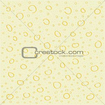abstract circle hand-made vector pattern