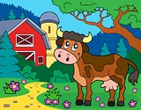 Cow theme image 2