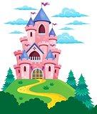 Pink castle theme image 2