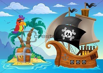 Small pirate island theme 2