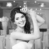 Pure beauty. Beautiful bride.