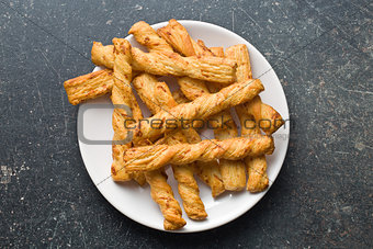 bread sticks with cheese