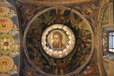 Jesus fresco on the ceiling the church
