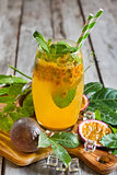 Passionfruit lemonade