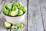 Brussels sprout background