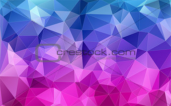 Abstract Two-dimensional  colorful background