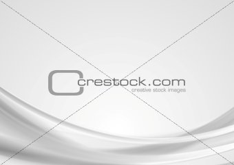 Abstract light grey wavy background