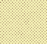Seamless hand-made halftone vector pattern