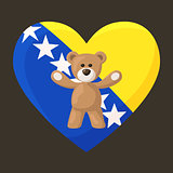 Bosnian and Herzegovinian Teddy Bears