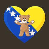 Bosnian and Herzegovinian Teddy Bears
