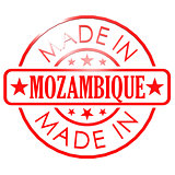Made in Mozambique red seal