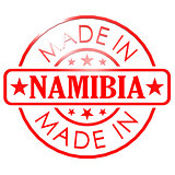 Made in Namibia red seal