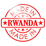 Made in Rwanda red seal