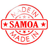 Made in Samoa red seal