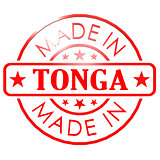 Made in Tonga red seal