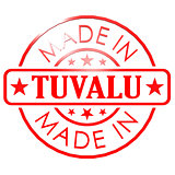 Made in Tuvalu red seal