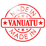 Made in Vanuatu red seal