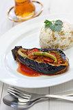 karniyarik pilav, turkish cuisine